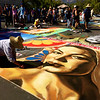 """i madonnari--street painting festival (all chalk/pastel drawings).  <a href=""""http://www.imadonnarifestival.com/"""">http://www.imadonnarifestival.com/</a>"""