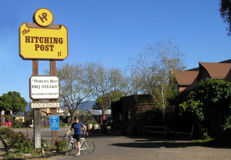 Sideways Location - Hitching Post
