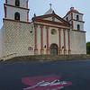 Mission at Santa Barbara Ca.