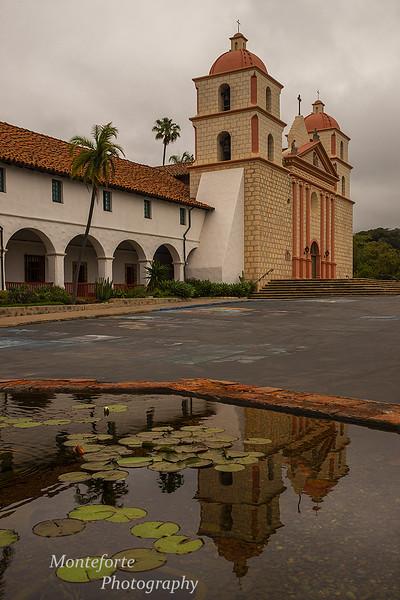 Mission Santa Barbara California
