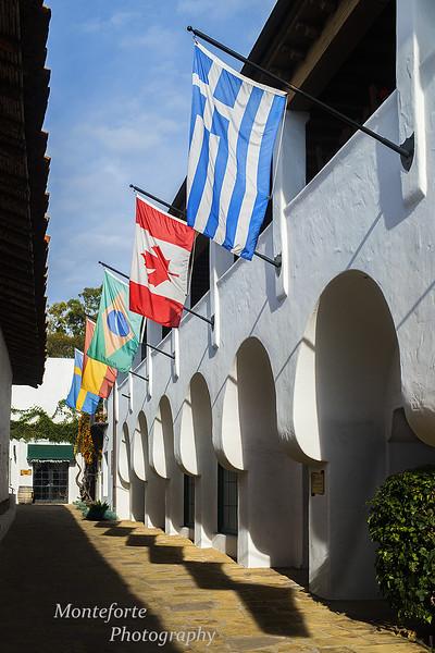 Street in Spain Santa Barbara Ca