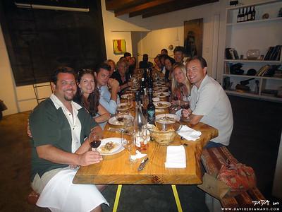 Santa Barbara Fun: Spare Parts Dinner: 8/5/12
