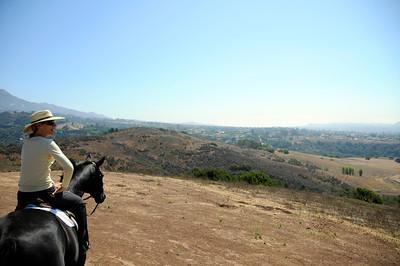 horses, ride, santa barbara, rebecca
