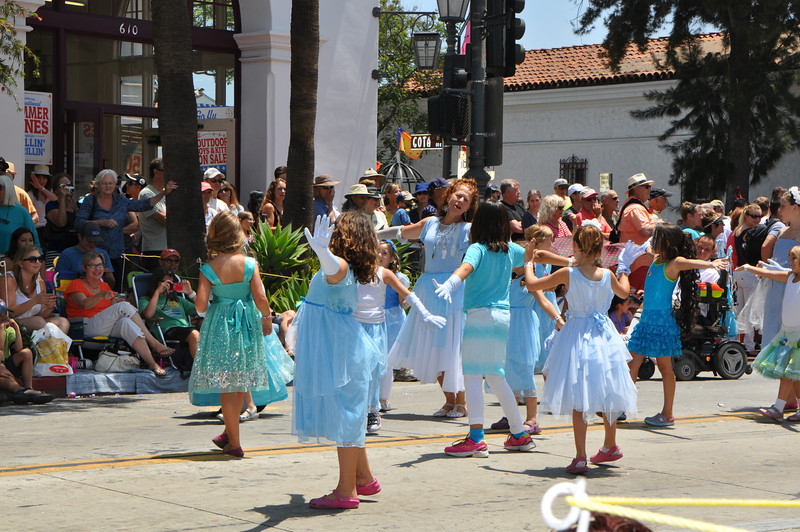 "Of course there was a ""Frozen"" movie song dance group."