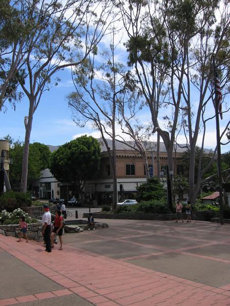 Mission San Luis Obispo, front courtyard