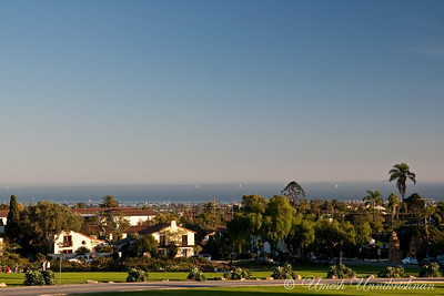 Santa Barbara from the mission