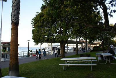 Tourists at Avalon