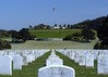 Golden Gate National Cemetery, located in San Bruno, CA, near San Francisco. (5x7)