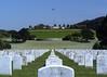 Golden Gate National Cemetery, located in San Bruno, CA, near San Francisco. (5x7)