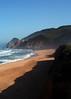 California coast just north of Half Moon Bay, California. (5x7)