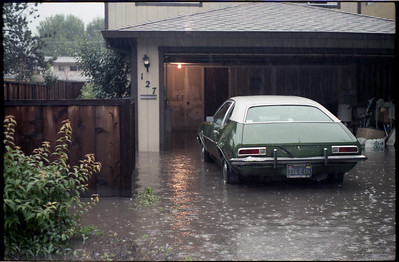 Walti Street floods on January 4th, 1982