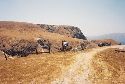 6/15/1996. Santa Cruz Island (trail to Potato Harbor), Channel Islands Natl Park, Ventura County, CA