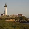 Pigeon Point lighthouse near Half Moon Bay.
