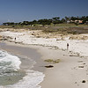"A perfect beach along the ""17-Mile Drive"" south of Monterey."