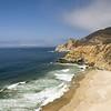 Idyllic beach on the Pacific ozean somewhere between San Francisco and Santa Cruz.