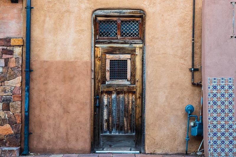 Doors in Sante Fe, New Mexico