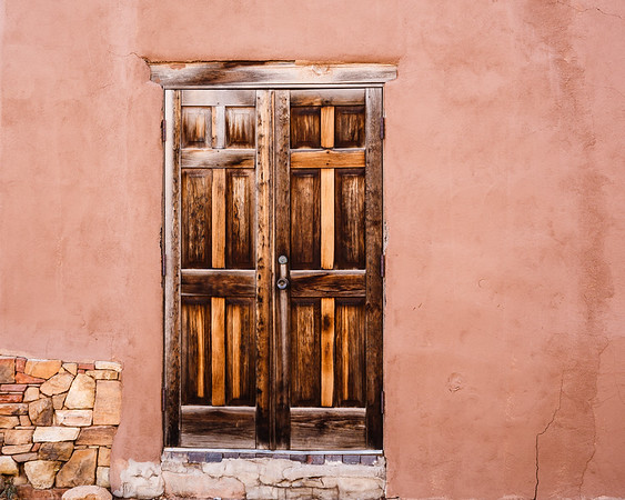 Doors in Sante Fe, New Mexico