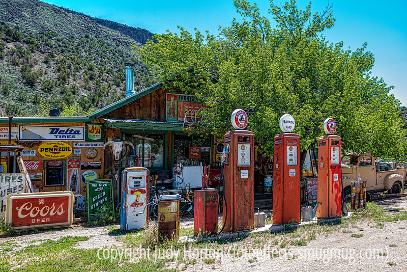 Gas Station Vintage Pumps and Memorabilia
