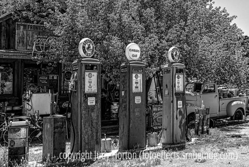Gas Station Vintage Pumps and Memorabilia