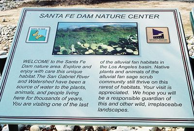 1/1/05 Nature Center. Santa Fe Dam Recreation Area, Irwindale, Los Angeles County, CA