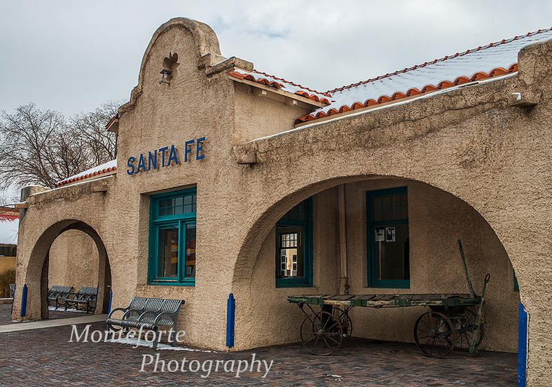 Train station in Santa Fe NM