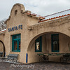 Train station in Santa Fe NM