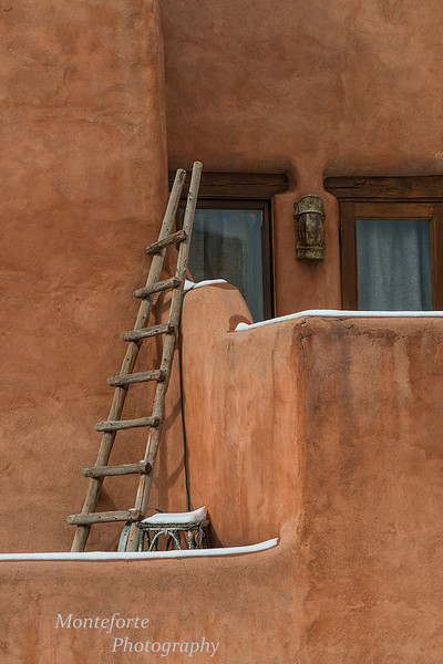 Typical building in Santa Fe NM