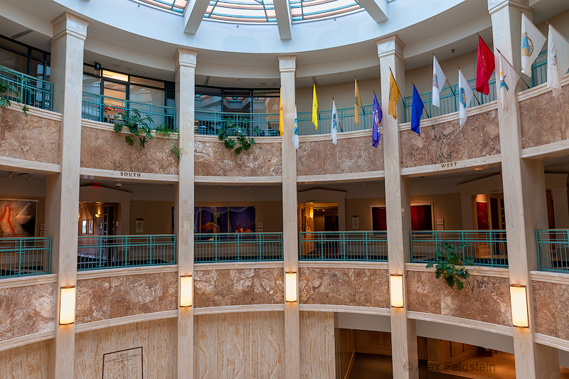New Mexico State House - The Rotunda