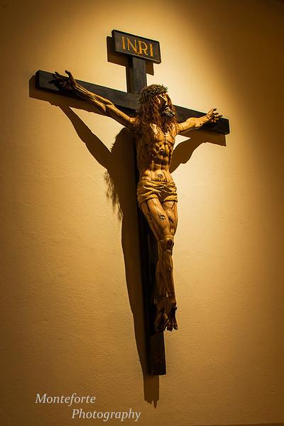 Inside St Francis church in Santa Fe NM