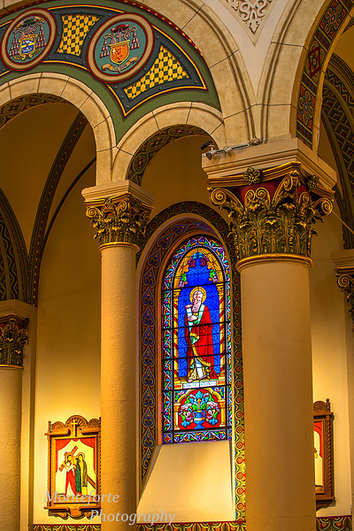 Inside St Francis church