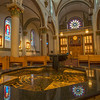Inside St Frances church Santa Fe NM