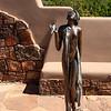 Sculpture at the Santa Fe Botanical Gardens