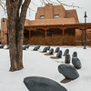Public sculpture Santa Fe NM