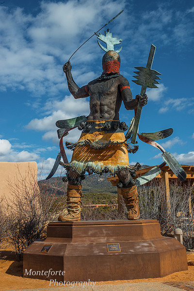 Apache Mountain Spirit Dancer, Indian Art Museum Santa Fe NM
