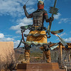 Apache Mountain Spirit Dancer, Indian Art Museum Santa Fe NM