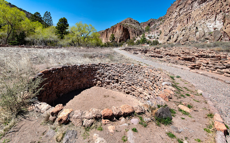 Bandelier National Park kiva