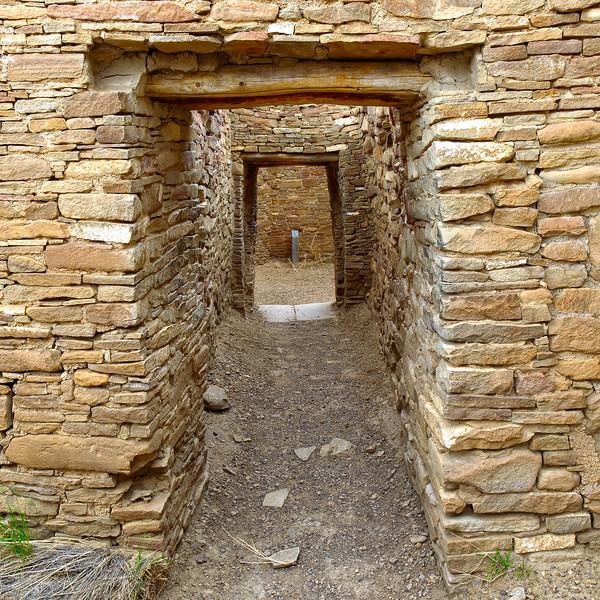 Pueblo Bonito Doorways, Chaco
