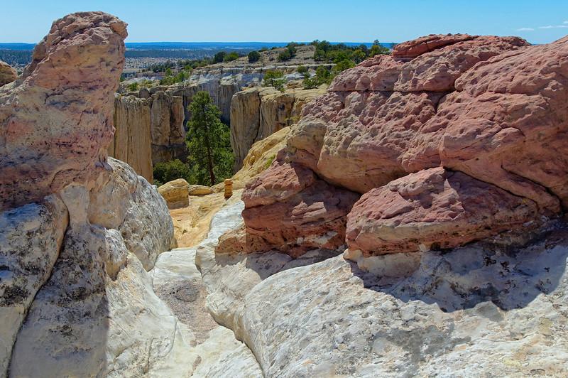 El Morro National Monument mesa trail