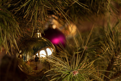 Santa Fe at Christmastime