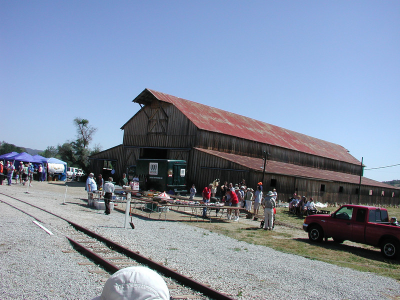 The Santa Margarita ranch railroad benefit for the San Luis Obispo Railroad Museum
