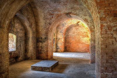 Generator Room (installed 1903), Cannon Casemates - Fort Pickens, Santa Rosa Island 1834