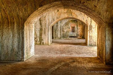 Cannon Casemates - Fort Pickens, Santa Rosa Island 1834