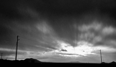 Turquoise Trail  Storm