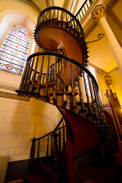 Photos of the Loretto Chapel interior are not for sale at this time.