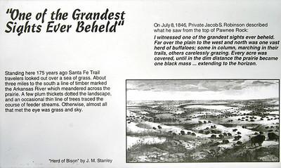 Grandest Sights Pawnee Rock  V0010197