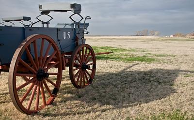 Wagon  horizon Fort Larned  _MG_9935