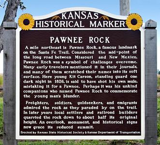 Pawnee Rock Sign  V0010192