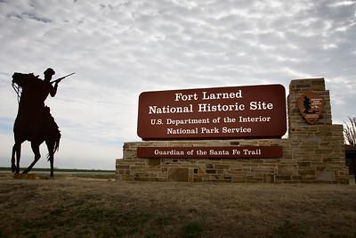 Fort Larned sign