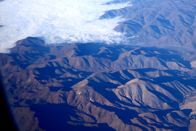 Comming into Santiago, Chile
