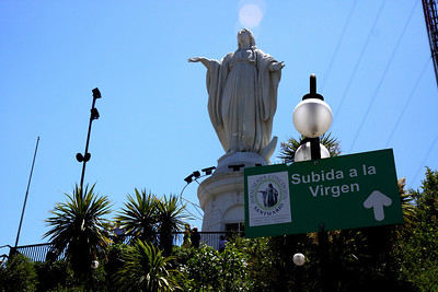 Statue of the Immaculate Conception Santiago Chile